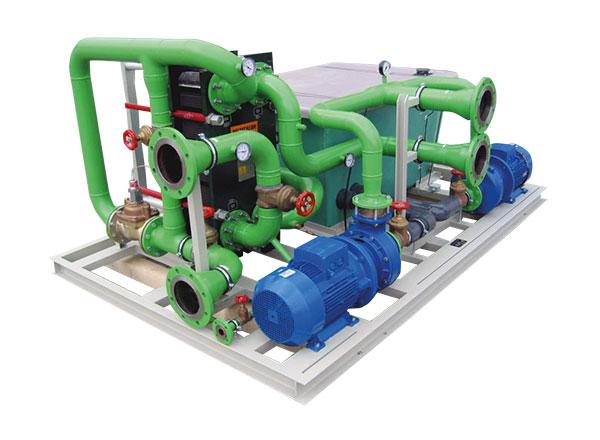 Wärmetauschersystem WT17