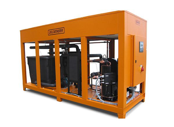 Heiz-/Kühlgerät mit E-Heizung und Kältemaschine