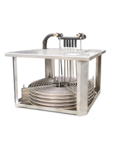Heat exchanger as immersion cooler
