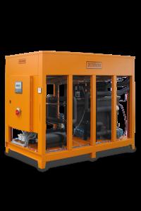 Appareil de chauffage/refroidissement avec chauffage électrique et refroidisseur
